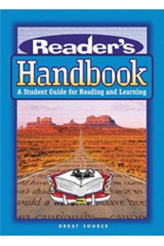 9780669495003: Great Source Reader's Handbooks: Teacher's Guide 2002