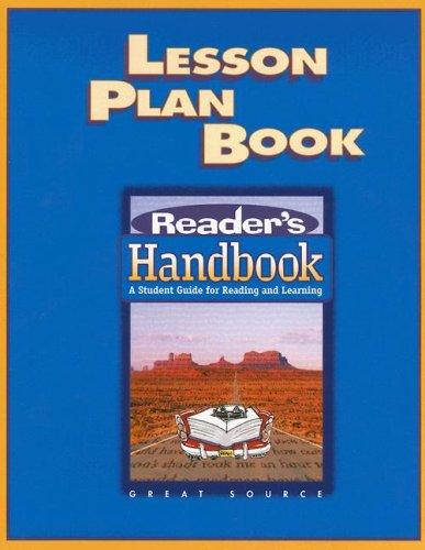 9780669495034: Great Source Reader's Handbooks: Lesson Plan Book 2003