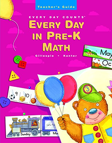9780669495393: Great Source Every Day Counts: in Pre-K: Teacher's Guide Grade Pre-K 2002
