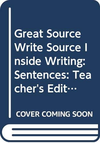 9780669498127: Great Source Write Source Inside Writing: Teacher's Edition Grade 7 2003