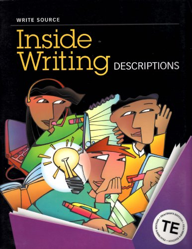 9780669498165: Great Source Write Source Inside Writing: Teacher's Edition Grade 7 2003
