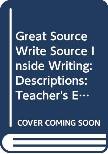 9780669498370: Great Source Write Source Inside Writing: Teacher's Edition Grade 8 2003