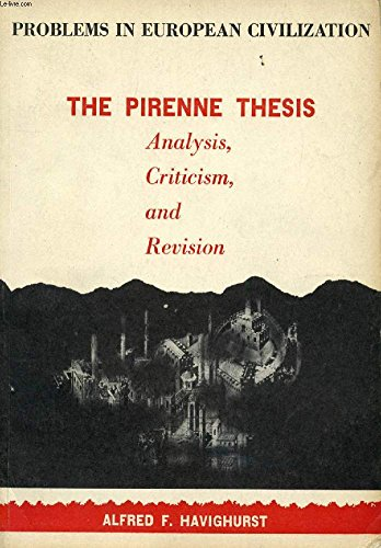 pirenne thesis criticism
