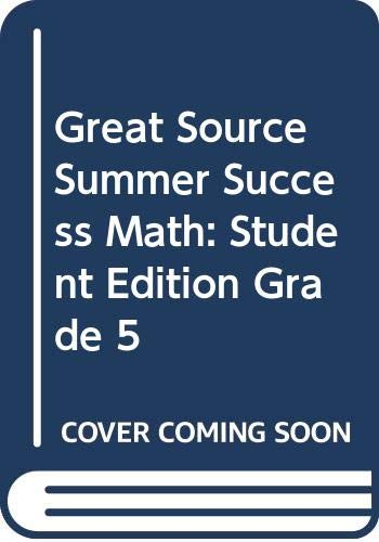 9780669499421: Great Source Summer Success Math: Student Edition Grade 5 2002