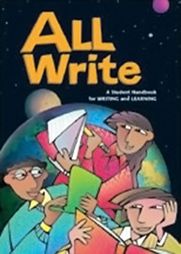 9780669499513: All Write: A Student Handbook for Writing and Learning (Write Source 2000 Revision)