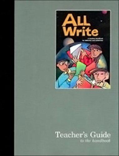 9780669499520: All Write: Teacher's Guide Handbook 2003
