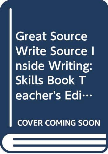 9780669500240: Great Source Write Source Inside Writing: Teacher's Edition Grade 7 2003 (Ws Inside Writing)
