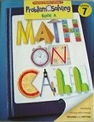 9780669500608: Math on Call: Problem Solving Book A Teacher's Guide, Grade 7