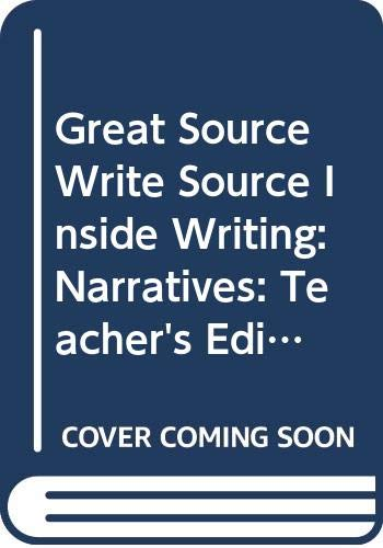 Great Source Write Source Inside Writing: Teacher's Edition Grade 9 2004 (0669503800) by GREAT SOURCE