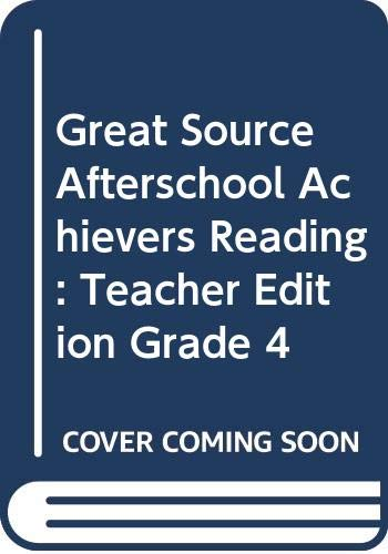 9780669505047: Great Source Afterschool Achievers Reading Club