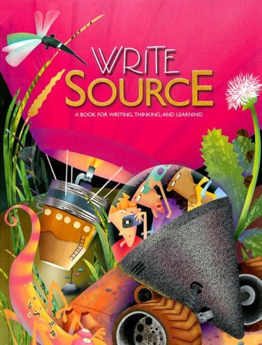 9780669507065: New Generation Write Source Grade 8: A Book for Writing, Thinking And Learning