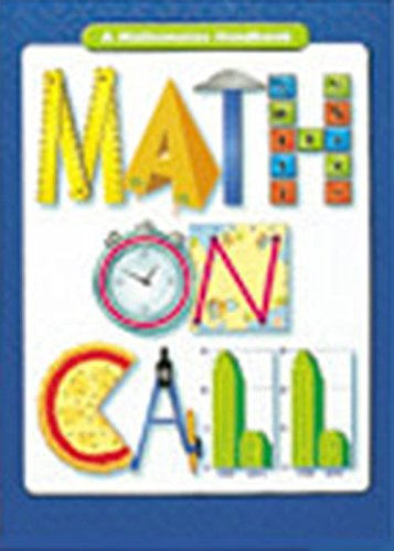 Math on Call: Handbook (Hardcover) Grades 6-8 2004: GREAT SOURCE