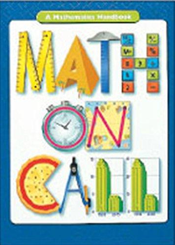9780669508192: Math on Call: Handbook (Softcover) Grades 6-8 2004