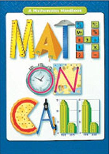 9780669508192: Math on Call: Handbook (Softcover) Grades 6-8 2004