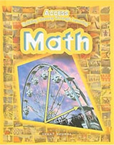 9780669508932: ACCESS Math: Student Edition Grades 5-12 2005