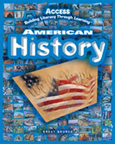 9780669509007: Access American History, Building Literacy Through Learning- Student Activity Journal