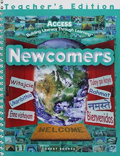 9780669509021: Newcomers, Teacher's Edition, Grades 6-8