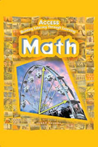 9780669509045: Access Math, Building Literacy Through Learning