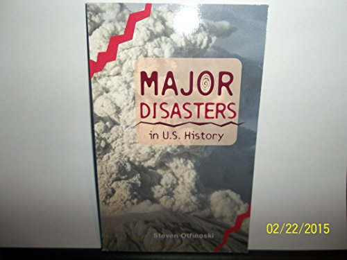 9780669514162: Major Disasters in U.S. History