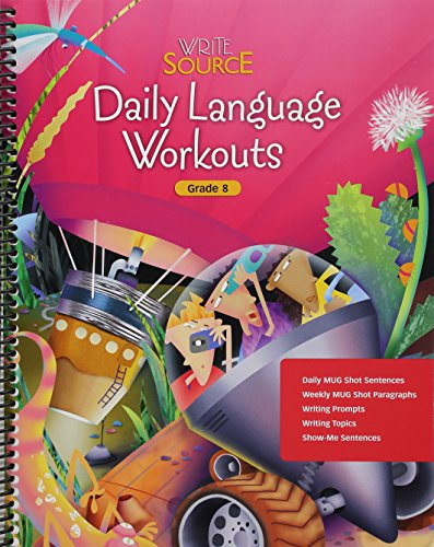 9780669515718: Write Source: Daily Language Workouts Grade 8