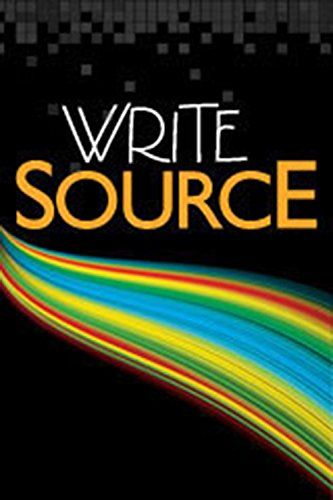 Write Source, Grade 7, Resource Pack, containing 4 books, CD-ROM, and Transparency Masters packet (0669515809) by GREAT SOURCE