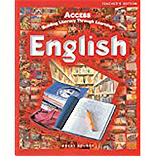 9780669516555: ACCESS English: Student Activities Journal Grades 5-12