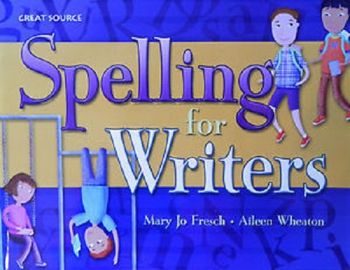 9780669517422: Great Source Spelling for Writers: Student Edition Grade 1