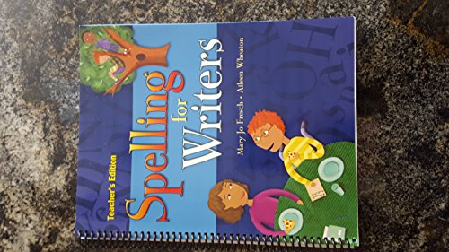 9780669517484: Great Source Spelling for Writers: Teacher Edition Grade 1 2006