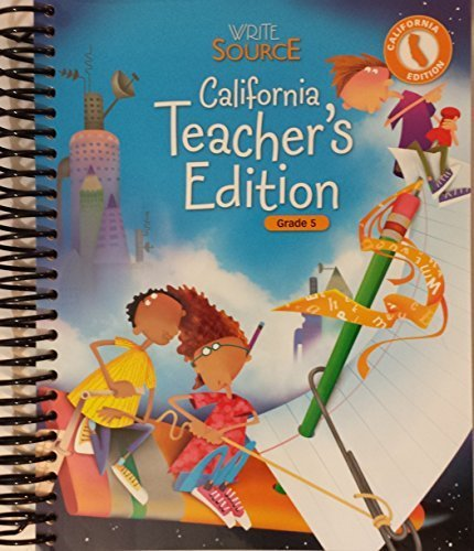 9780669517521: Great Source Spelling for Writers: Teacher Edition Grade 5 2006