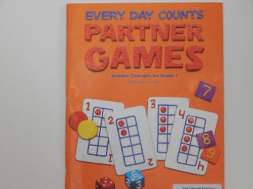 9780669519310: Great Source Every Day Counts: Partner Games: Teacher's Guide Grade 1 2005