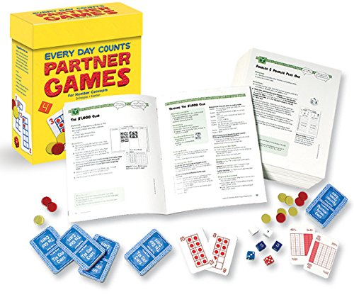 9780669519440: Great Source Every Day Counts: Partner Games: Teacher's Guide Grade 4 2005