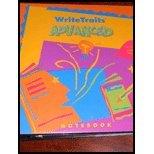 9780669529319: Write Traits Advanced Notebook - Level 1