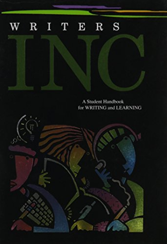 9780669529951: Writers INC: A Student Handbook for Writing and Learning (Great Source Writer's Inc)