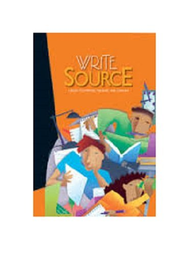 9780669531480: Write Source: A Book for Writing, Thinking and Learning Workbook
