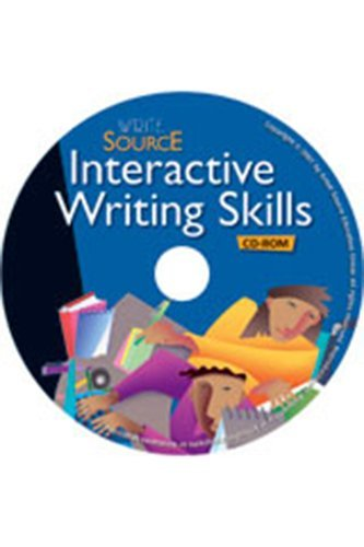 9780669531664: Write Source: Interactive Writing Skills CD Grade 9 2006