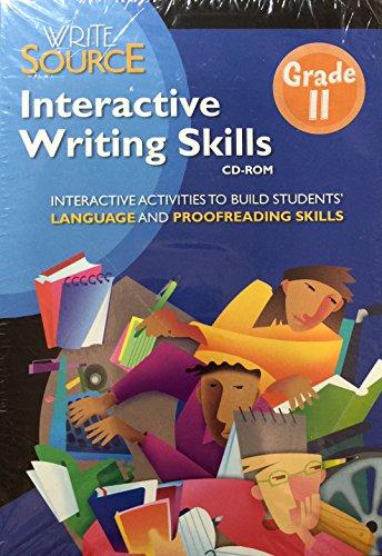9780669531688: Great Source Write Source: Interactive Writing Skills CD Grade 11 2006