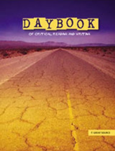 9780669534849: Daybook of Critical Reading and Writing, Teacher's Edition Grade 6
