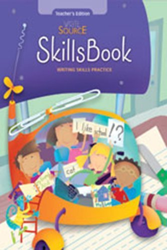 9780669537895: Write Source: Skills Book Teacher Edition Grade 1 2007