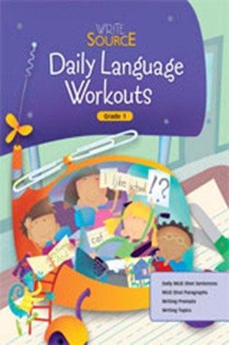 9780669537949: Daily Language Workouts: Write Source Grade 1