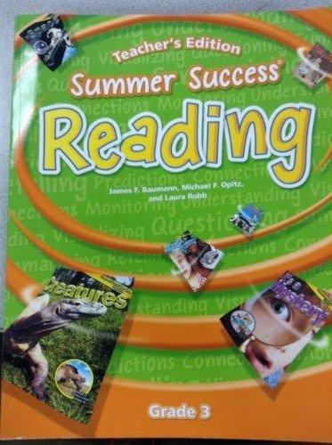9780669543223: Great Source Summer Success Reading: Teacher Edition Grade 3 2008