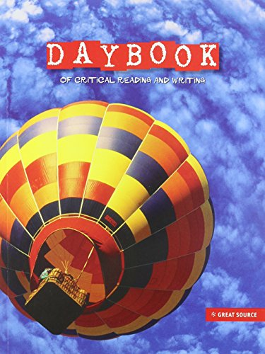 9780669549799: Great Source Daybooks: Critical Reading and Writing Student Edition Grade 5