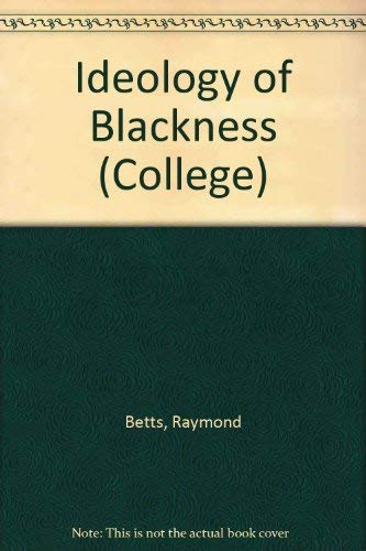 9780669599800: The Ideology of Blackness