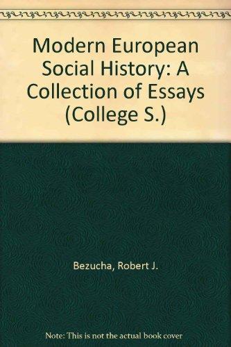 9780669611434: Modern European Social History