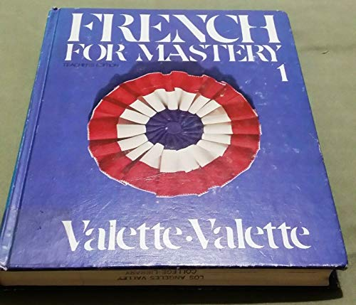 French for Mastery 1: Salut, les Amis!: Jean-Paul Valette, Rebecca