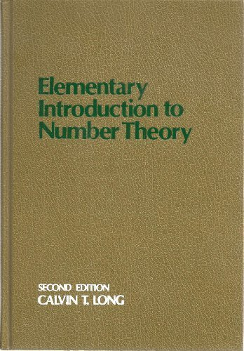 9780669627039: Elementary Introduction to Number Theory (College)