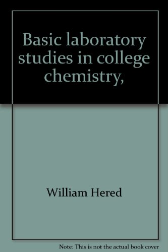 Basic laboratory studies in college chemistry,: With a supplement in semimicro qualitative analysis...