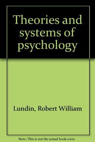 9780669636697: Theories and systems of psychology