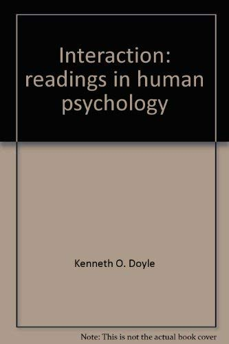Interaction - Readings In Human Psychology