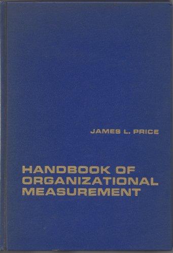 9780669752007: Handbook of Organizational Measurement (College S.)