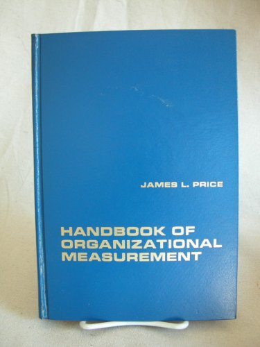 9780669752007: Handbook of Organizational Measurement (College)